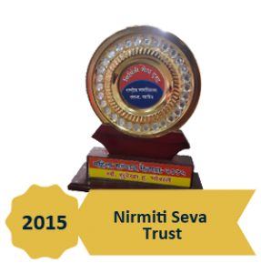 Award - Nirmiti seva trust 2015