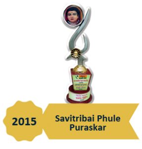 Award - Savitribai phule pursakar 2015