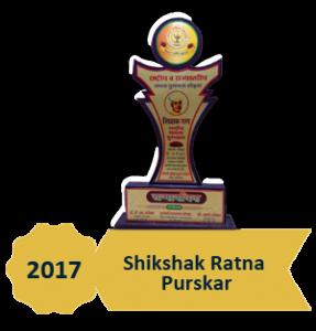 2017 shikshak Ratna Purskar