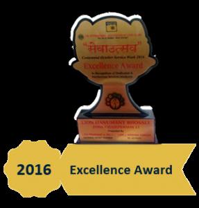 Award - Excellence Award 2016