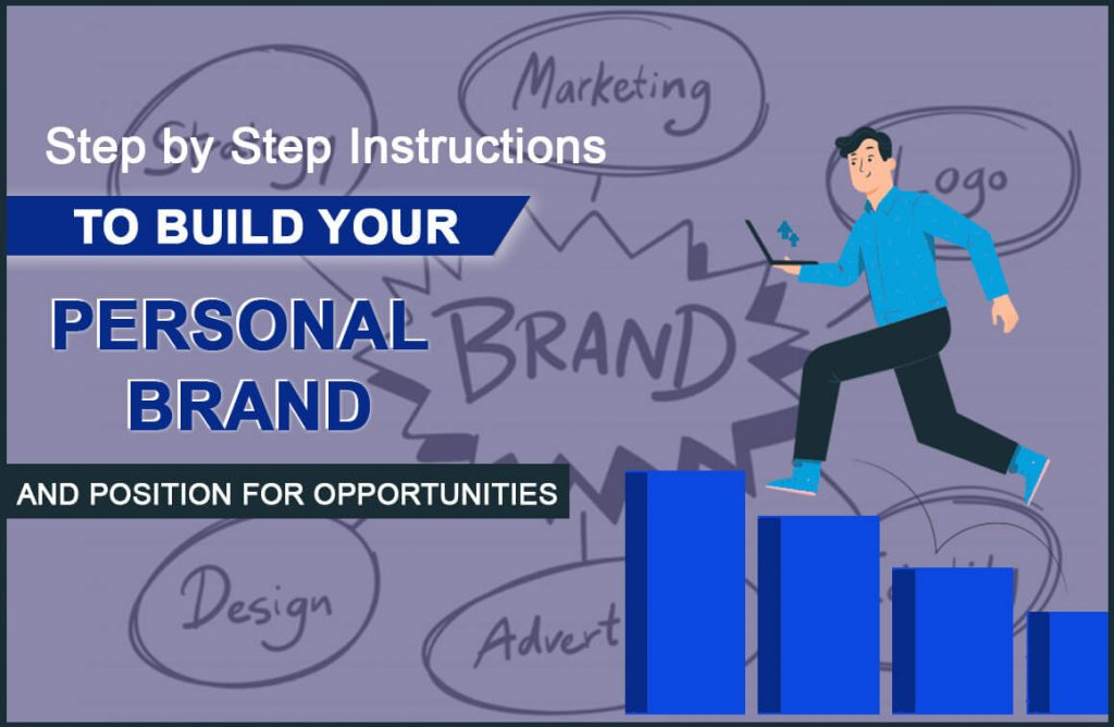 step by step instruction to build personal brand