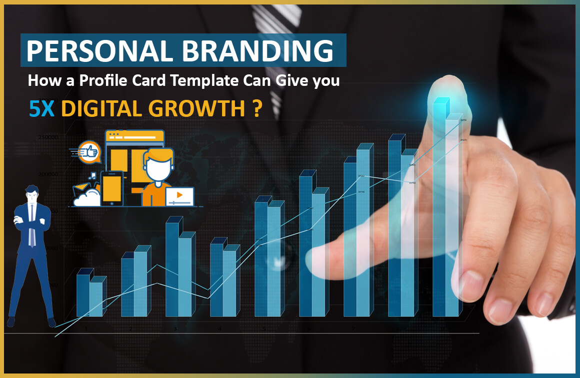 Personal Branding | How a Profile Card Ready Made Web Template Can Give YOU 5x Digital Growth?