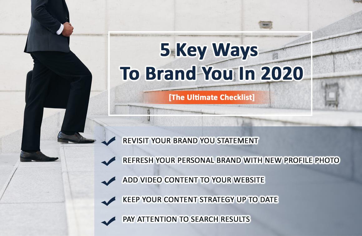5 Key Ways To Brand You In 2020